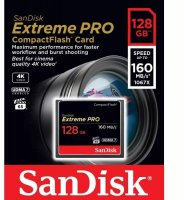 SanDisk Extreme Pro CF 128Gb 160Mb/s/1067X