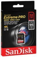 SanDisk Extreme Pro SDHC 32GB (95Mb/s)
